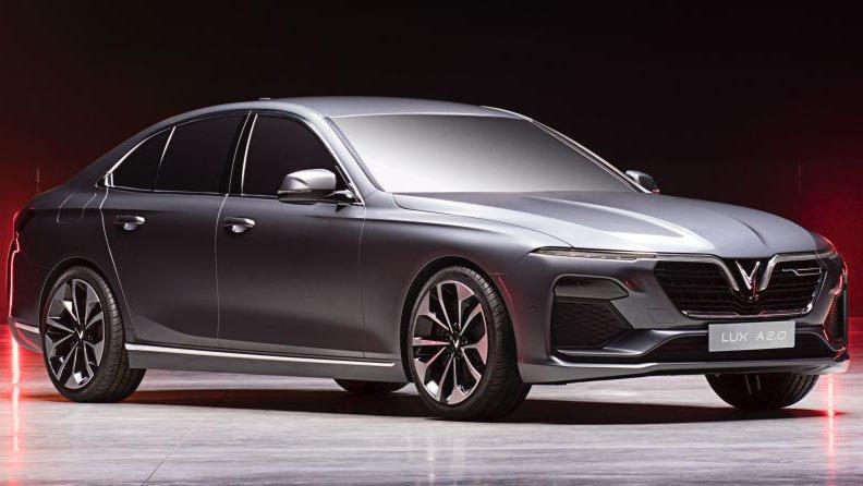 So sánh xe VinFast LUX A2.0 và Toyota Camry về thiết kế ngoại thất a2