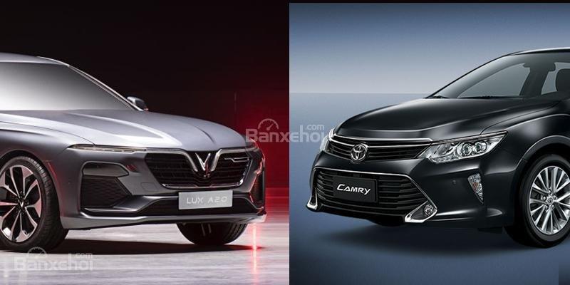 """Sedan hạng D: VinFast LUX A2.0 hơn Toyota Camry """"Cẩm-Ly"""" điểm nào"""