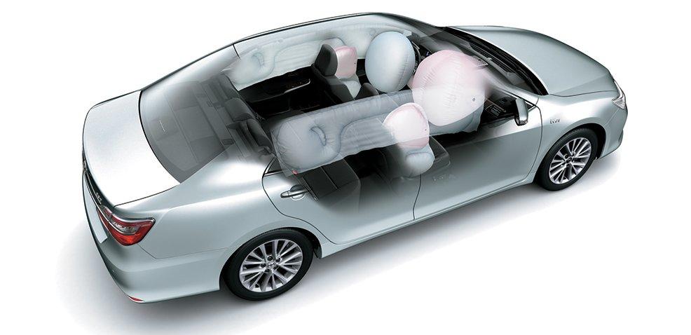 So sánh xe VinFast LUX A2.0 và Toyota Camry về an toàn...
