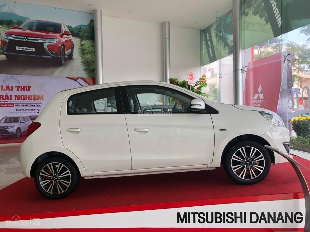 [Siêu giảm] Mitsubishi Mirage giá cực rẻ, màu trắng, nhập khẩu Thái, lợi xăng 5L/100km, cho góp 80%-1
