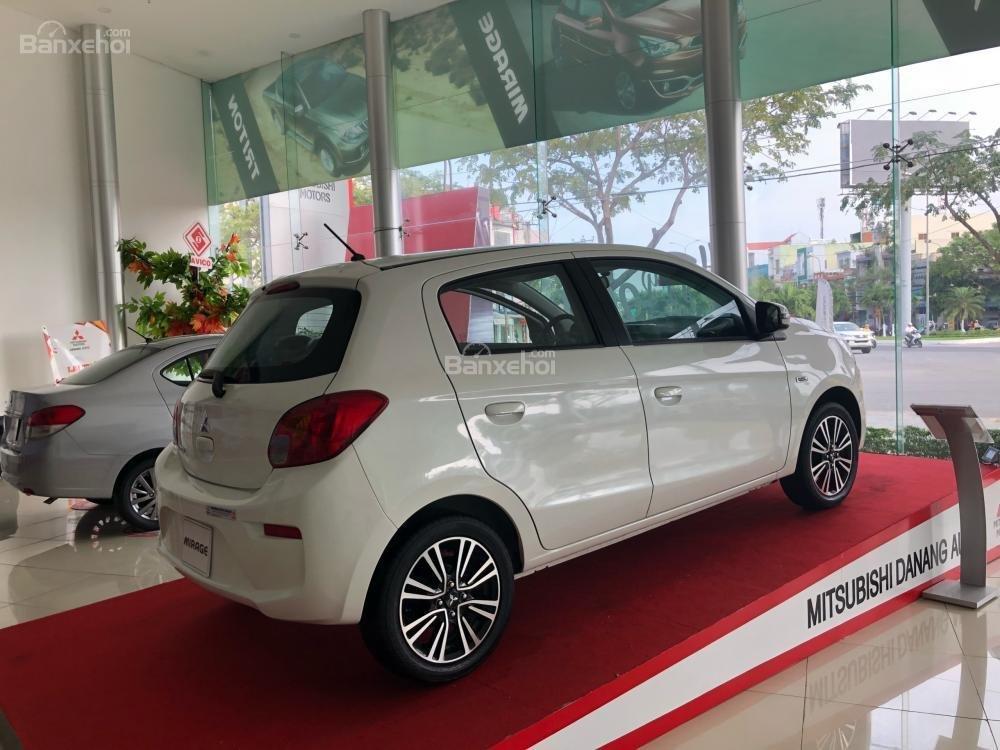 [Siêu giảm] Mitsubishi Mirage giá cực rẻ, màu trắng, nhập khẩu Thái, lợi xăng 5L/100km, cho góp 80%-3