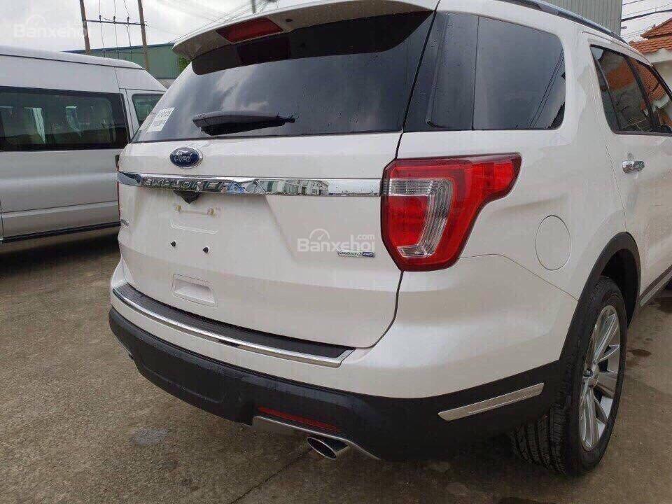 Bán ô tô Ford Explorer 2.3L Ecoboost Limited form 2018, màu trắng, xe nhập Mỹ, hỗ trợ thủ tục trả góp 80%-7