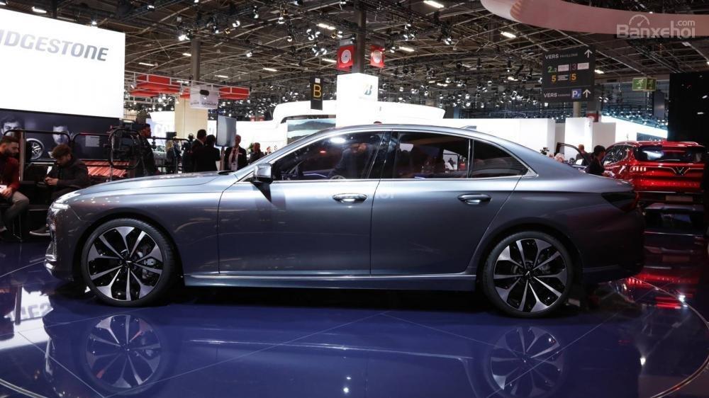 Đánh giá xe VinFast LUX A2.0: Thân xe.
