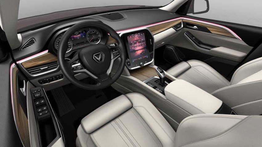 Đánh giá xe VinFast LUX SA2.0: Khoang nội thất sang trọng, chất lượng cao...