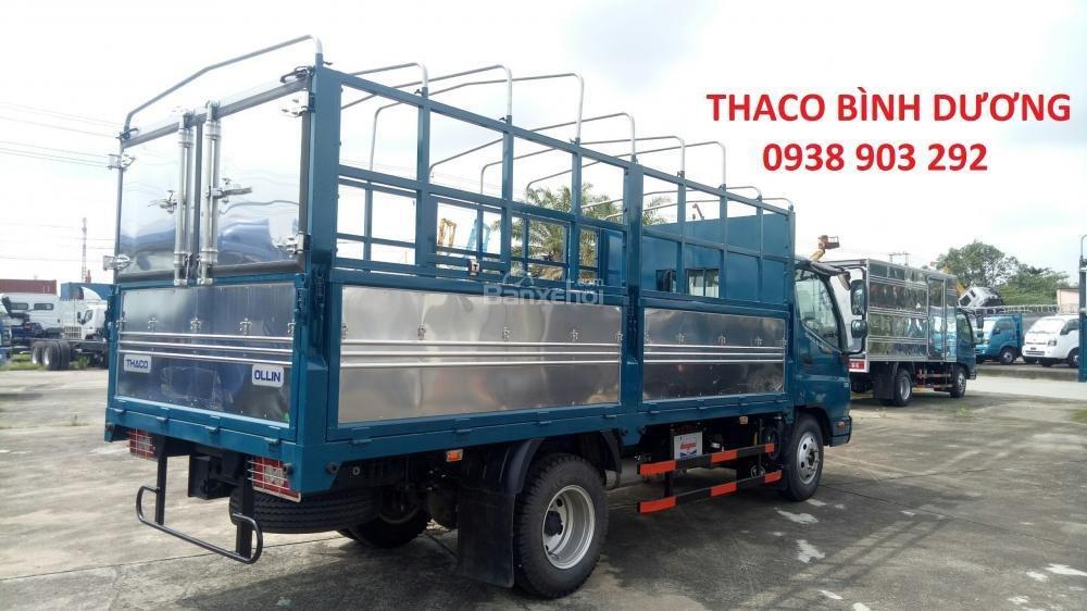 Bán xe Thaco Ollin 350 E4 đời 2018, giá 354tr, Ollin 350 thùng mui bạt 2T1 - trả góp 70% tại Bình Dương, 0938903292 (5)