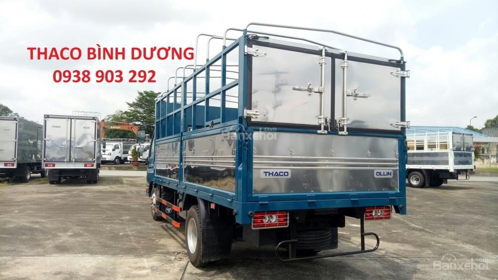 Bán xe Thaco Ollin 350 E4 đời 2018, giá 354tr, Ollin 350 thùng mui bạt 2T1 - trả góp 70% tại Bình Dương, 0938903292 (6)