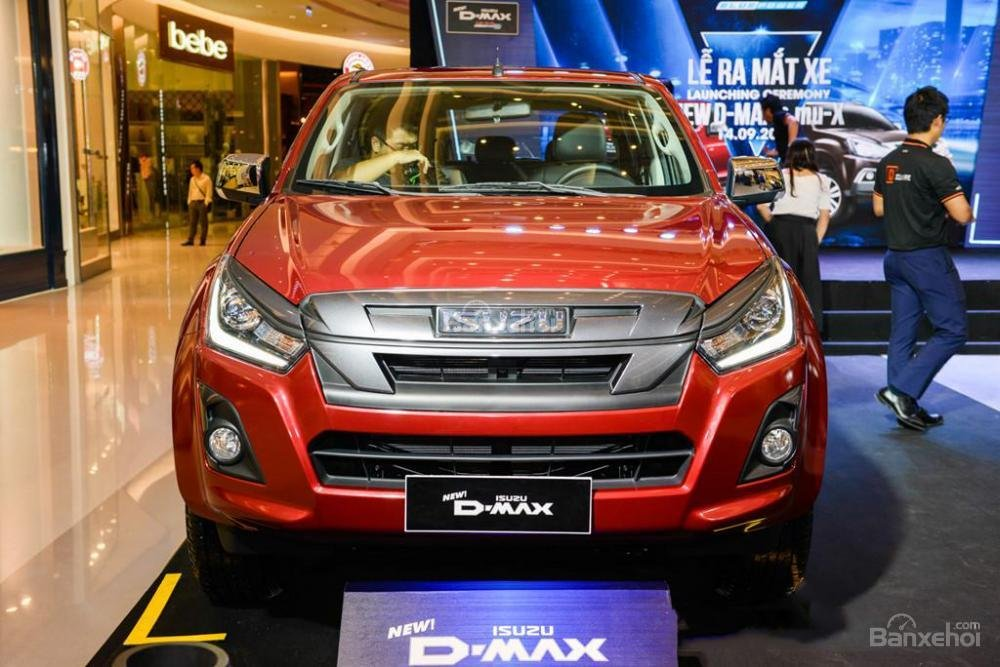 Đánh giá xe Isuzu D-Max 2019
