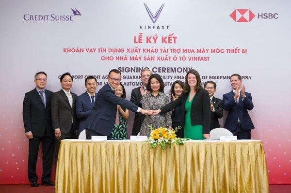 VinFast huy động thành công gói tài chính 950 triệu USD nhập trang thiết bị 1
