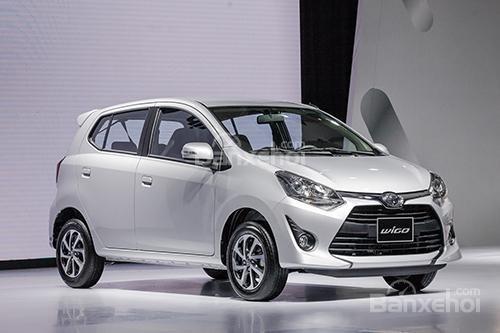 Toyota Wigo là mẫu xe bán chạy nhất