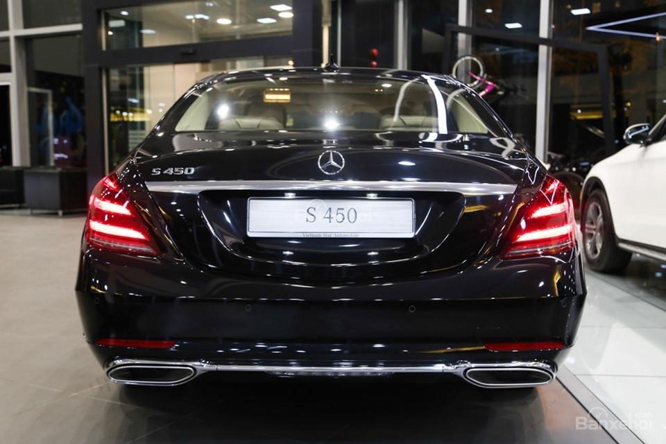 Đuôi xe Mercedes-Benz S450 Luxury