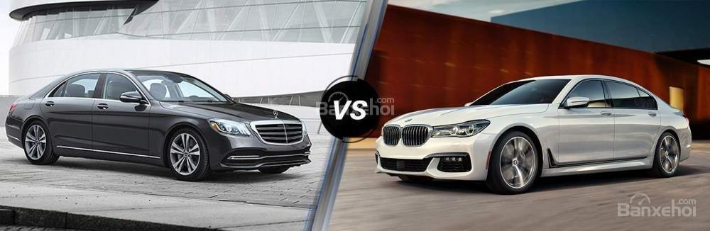 Tổng quát xe BMW 740Li và Mercedes-Benz S450 Luxury