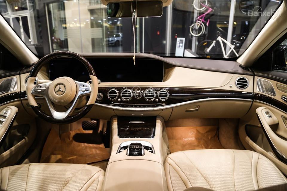 Nội thất Mercedes-Benz S450 Luxury