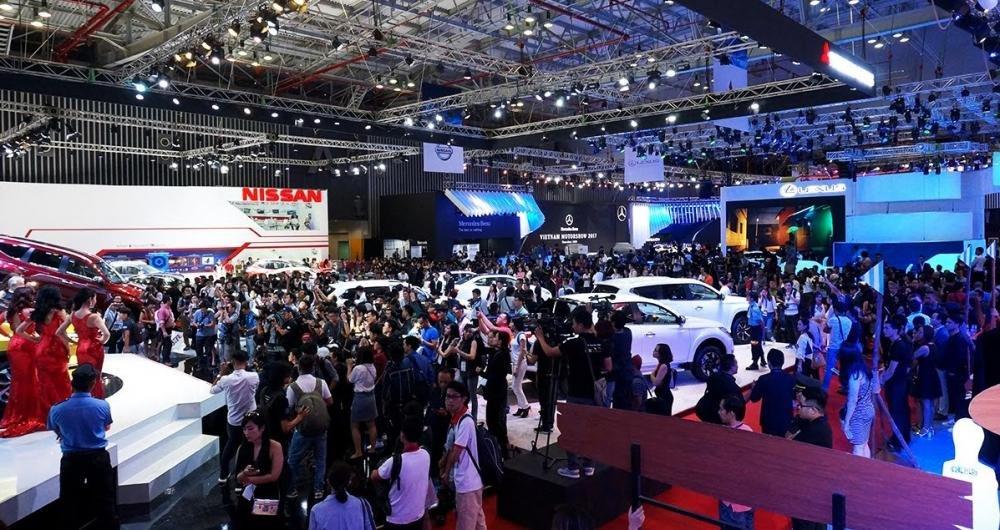 Những thông tin cần biết về Vietnam Motor Show 2018 trước giờ khai mạc - Ảnh 1.