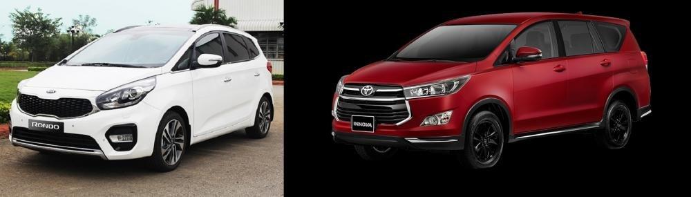 Mua xe gia đình 7 chỗ, nên chọn Toyota Innova 2018 hay Kia Rondo 2018? 1.