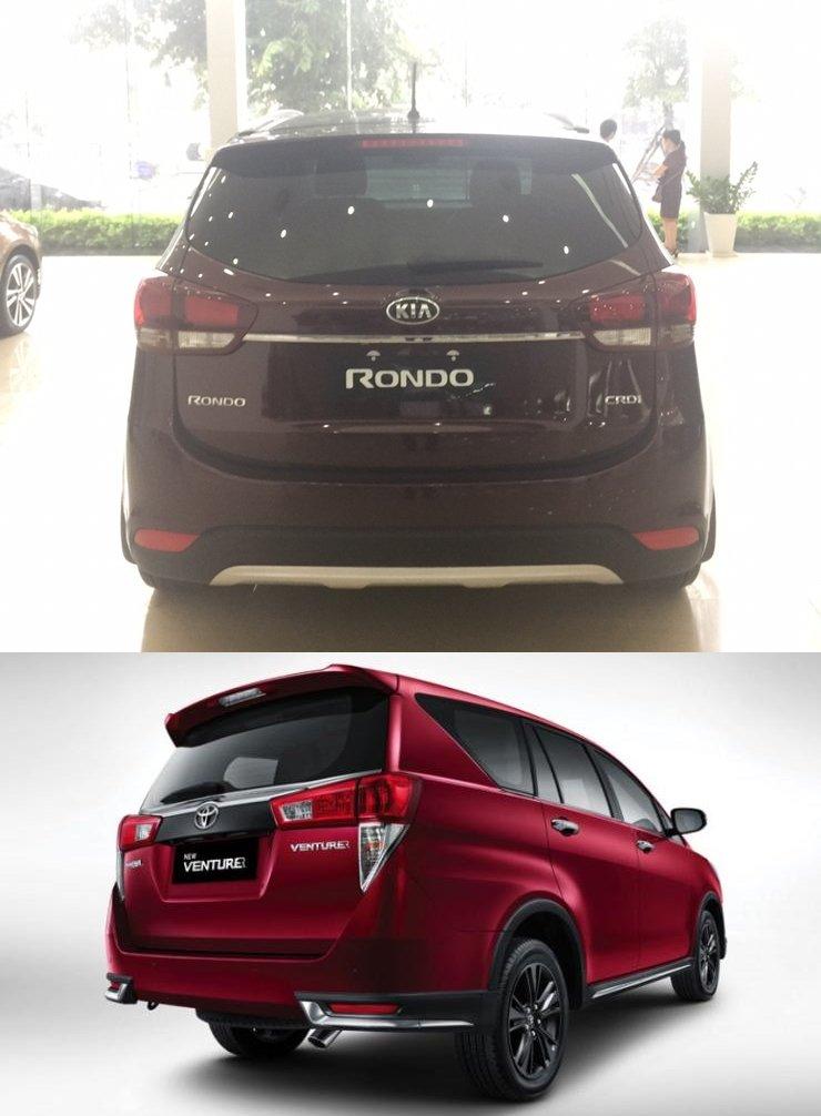 Mua xe gia đình 7 chỗ, nên chọn Toyota Innova 2018 hay Kia Rondo 2018? 3.