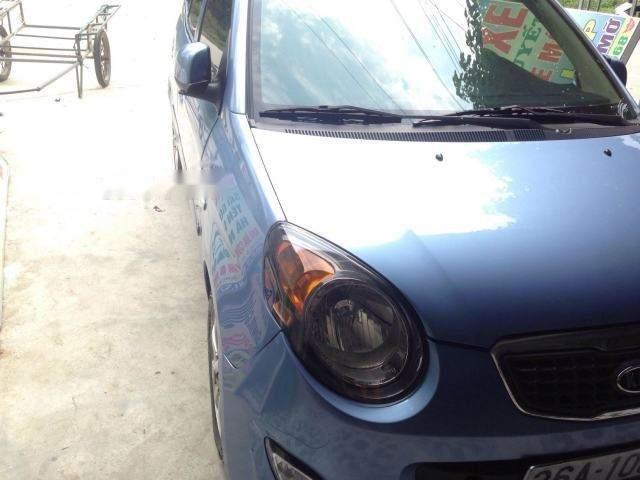 Bán ô tô Kia Morning MT 2007, màu xanh lam, giá tốt (1)