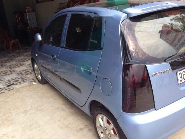 Bán ô tô Kia Morning MT 2007, màu xanh lam, giá tốt (3)