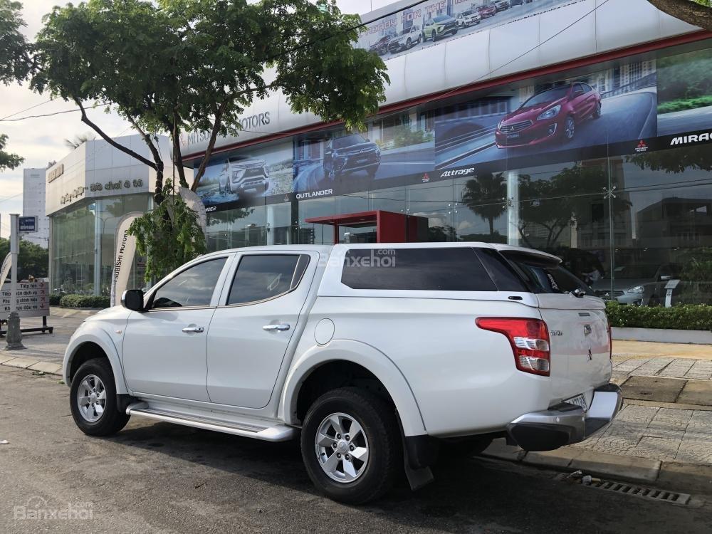 [Siêu giảm] Mitsubishi Triton, màu trắng, xe nhập Thái, lợi dầu 7L/100km, trả góp 80%. LH: 0905.91.01.99-1