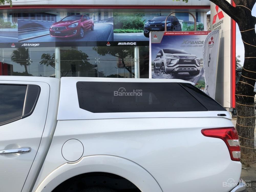 [Siêu giảm] Mitsubishi Triton, màu trắng, xe nhập Thái, lợi dầu 7L/100km, trả góp 80%. LH: 0905.91.01.99-3