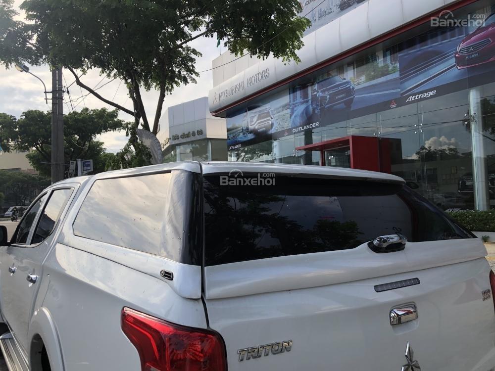 [Siêu giảm] Mitsubishi Triton, màu trắng, xe nhập Thái, lợi dầu 7L/100km, trả góp 80%. LH: 0905.91.01.99-5