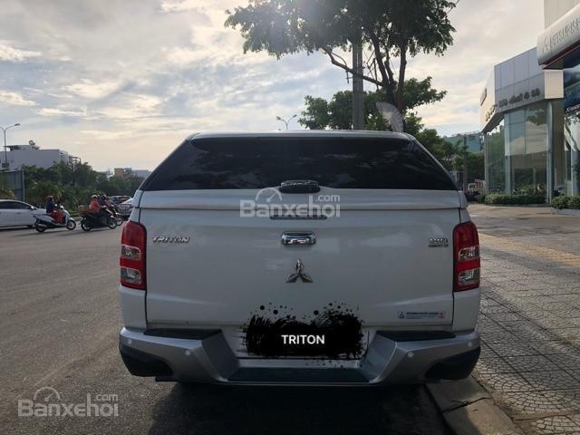 [Siêu giảm] Mitsubishi Triton, màu trắng, xe nhập Thái, lợi dầu 7L/100km, trả góp 80%. LH: 0905.91.01.99-4