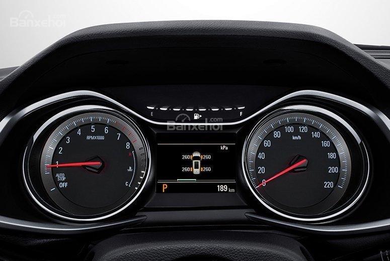 Đánh giá xe Chevrolet Orlando 2019: Cụm đồng hồ ..