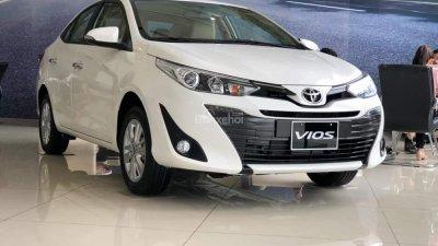 Vios 1.5E trả trước từ 120tr, KM phụ kiện chính hãng, hỗ trợ trả góp lãi suất thấp tại Toyota Mỹ Đình-0