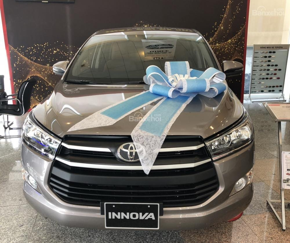 Toyota Tân Cảng- Bán Innova 2.0E 2019- Hỗ trợ trả góp với nhiều ưu đãi hấp dẫn mừng Tết Kỷ Hợi 2019- LH 0901923399-0