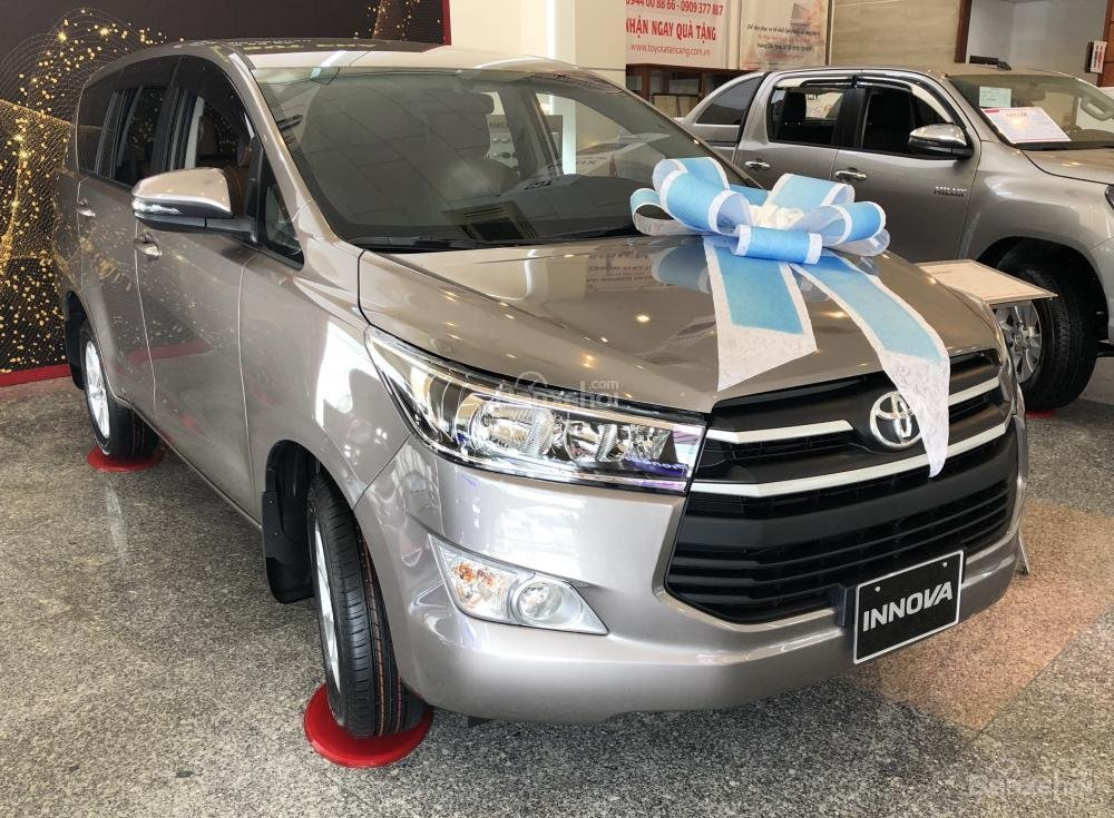 Toyota Tân Cảng- Bán Innova 2.0E 2019- Hỗ trợ trả góp với nhiều ưu đãi hấp dẫn mừng Tết Kỷ Hợi 2019- LH 0901923399-2