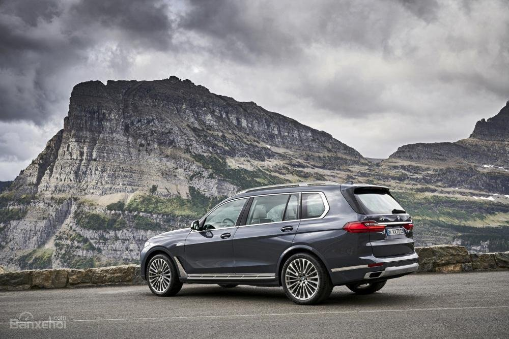 Ảnh chi tiết ngoại thất BMW X7 2018 a2