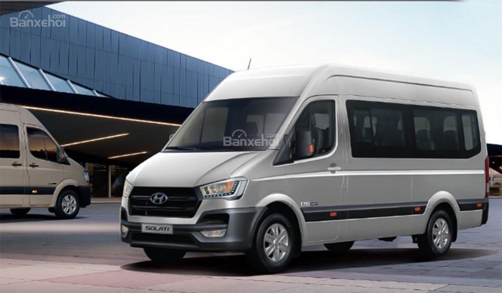Hyundai Solati 2019 sở hữu kích thước lớn nhất phân khúc 1