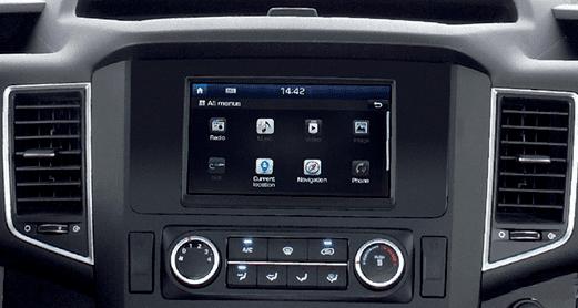 Đánh giá xe Hyundai Solati 2019 về hệ thống tiện nghi 1