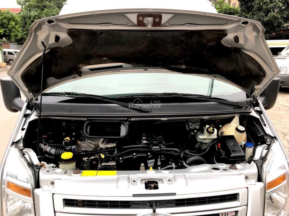 Bán Ford Transit 2015, xe chạy du lịch từ mới, sơn zin cả xe, lốp mới cả dàn-15
