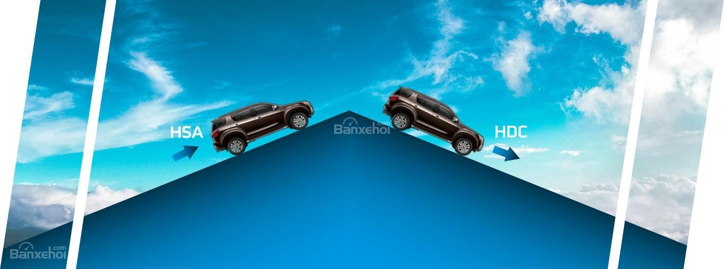 Đánh giá xe Isuzu mu-X 2019: Xe sở hữu một số tính năng an toàn tiêu chuẩn.