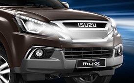 Đánh giá xe Isuzu mu-X 2019: Lưới tản nhiệt.
