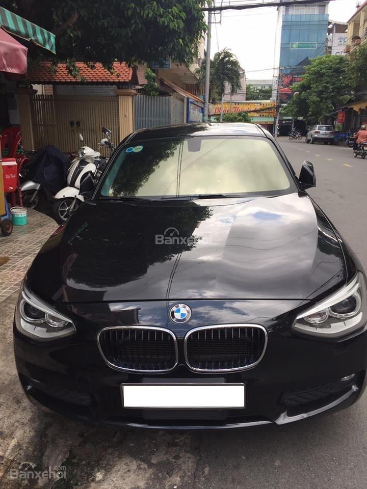 Bán em BMW 116i đời 2013 màu đen, số tự động, 8 cấp-0