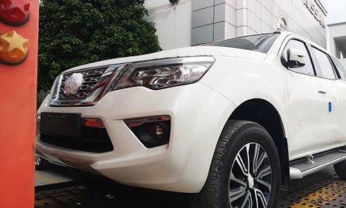 Nissan Terra 2019 giá 980 triệu đồng đã có mặt tại đại lý trước khi tới VMS 2018 a1