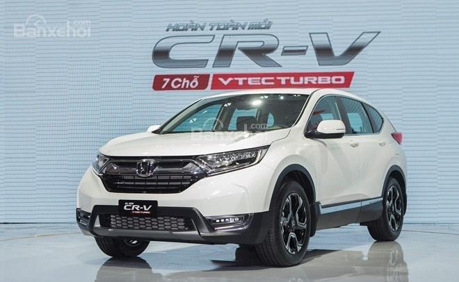 Honda CR-V 2018 và Toyota Fortuner 2018 về phần đầu