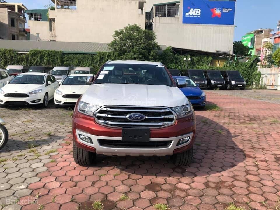 Bán ô tô Ford Everest 2.0L 4x2 Titanium AT đời 2019,màu đỏ, nhập khẩu Thái, hỗ trợ trả góp lên đến 80%-1