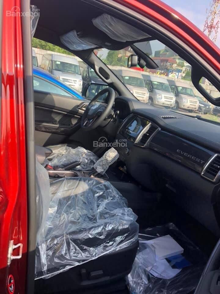 Bán ô tô Ford Everest 2.0L 4x2 Titanium AT đời 2019,màu đỏ, nhập khẩu Thái, hỗ trợ trả góp lên đến 80%-2