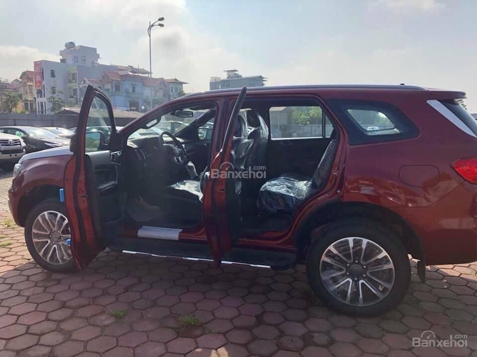 Bán ô tô Ford Everest 2.0L 4x2 Titanium AT đời 2019,màu đỏ, nhập khẩu Thái, hỗ trợ trả góp lên đến 80%-4