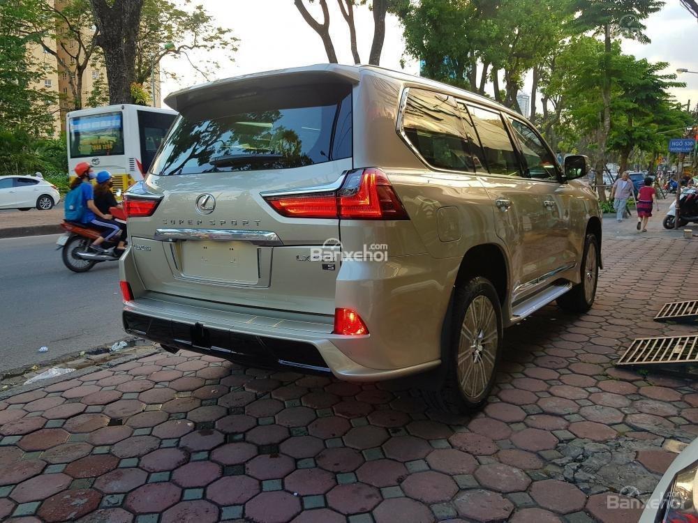 Bán xe Lexus LX 570S SuperSport đời 2018, màu vàng, nhập khẩu Trung Đông nguyên chiếc. LH: E Hương 0945392468-4