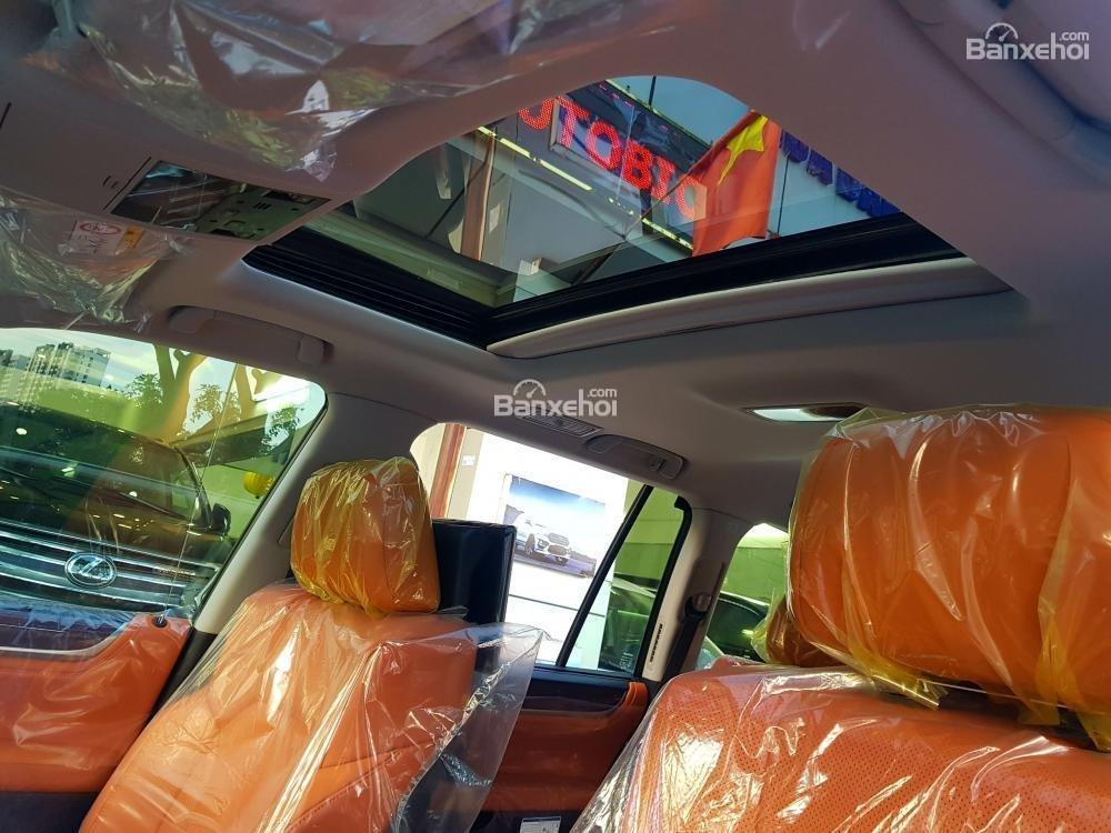 Bán xe Lexus LX 570S SuperSport đời 2018, màu vàng, nhập khẩu Trung Đông nguyên chiếc. LH: E Hương 0945392468-10