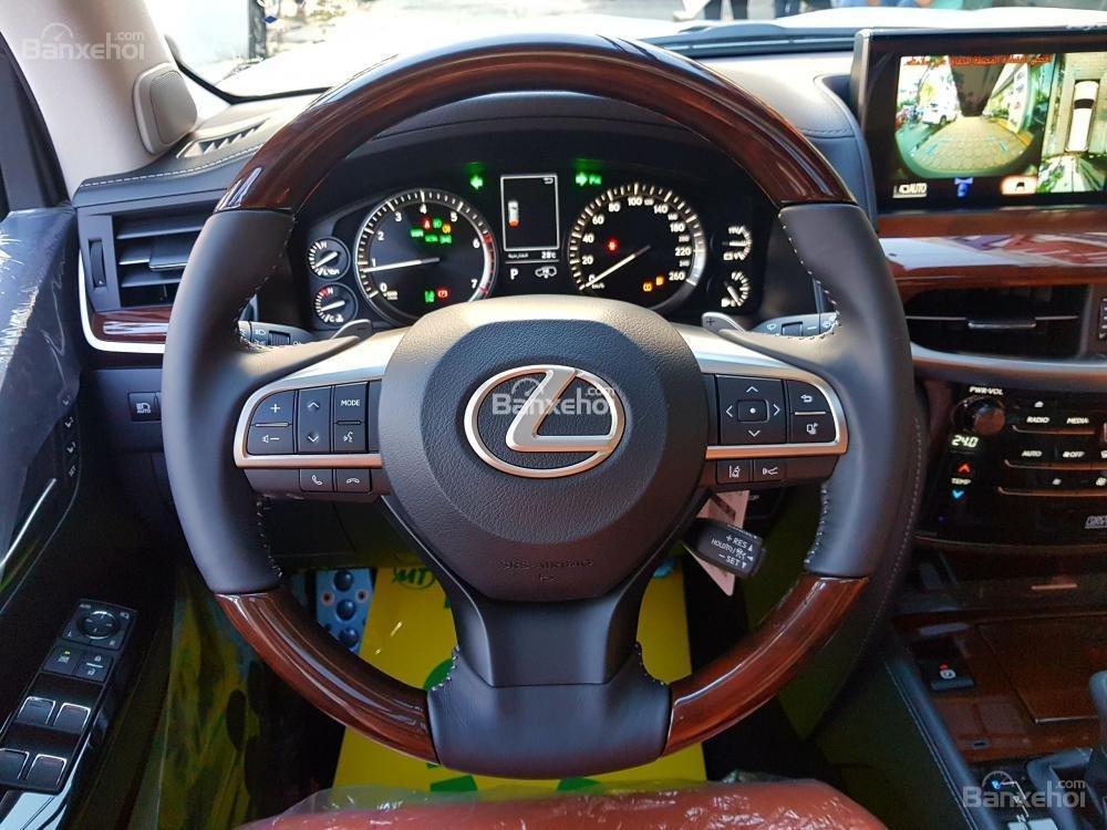 Bán xe Lexus LX 570S SuperSport đời 2018, màu vàng, nhập khẩu Trung Đông nguyên chiếc. LH: E Hương 0945392468-20