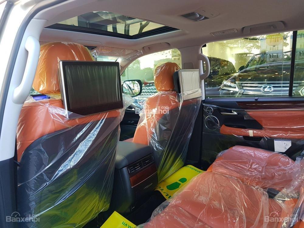 Bán xe Lexus LX 570S SuperSport đời 2018, màu vàng, nhập khẩu Trung Đông nguyên chiếc. LH: E Hương 0945392468-12