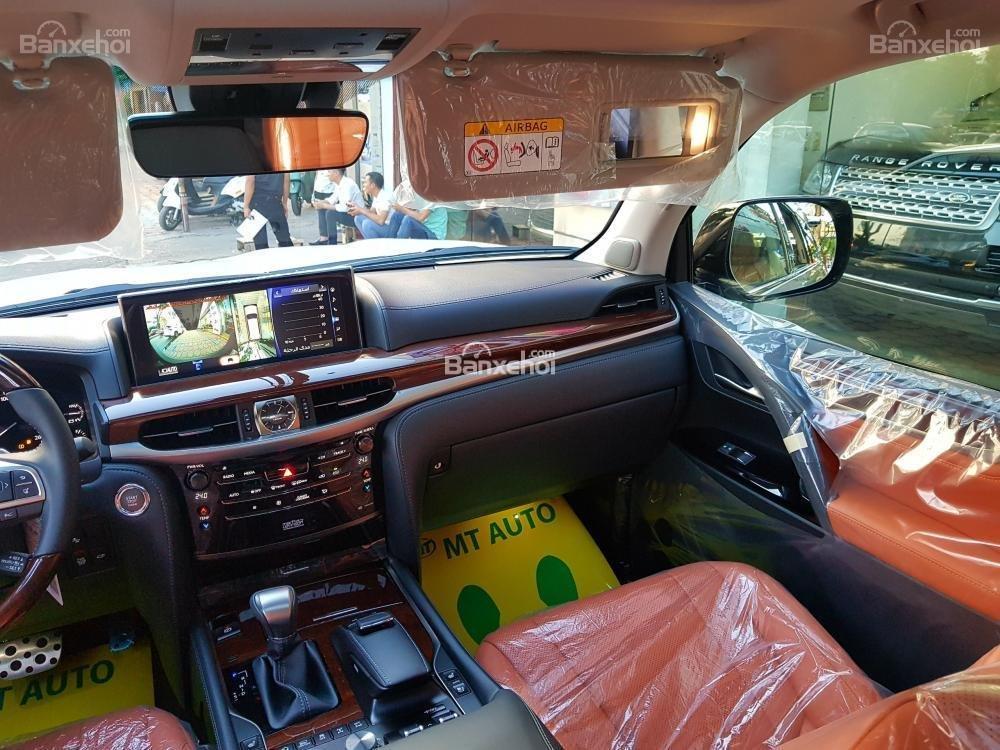 Bán xe Lexus LX 570S SuperSport đời 2018, màu vàng, nhập khẩu Trung Đông nguyên chiếc. LH: E Hương 0945392468-19