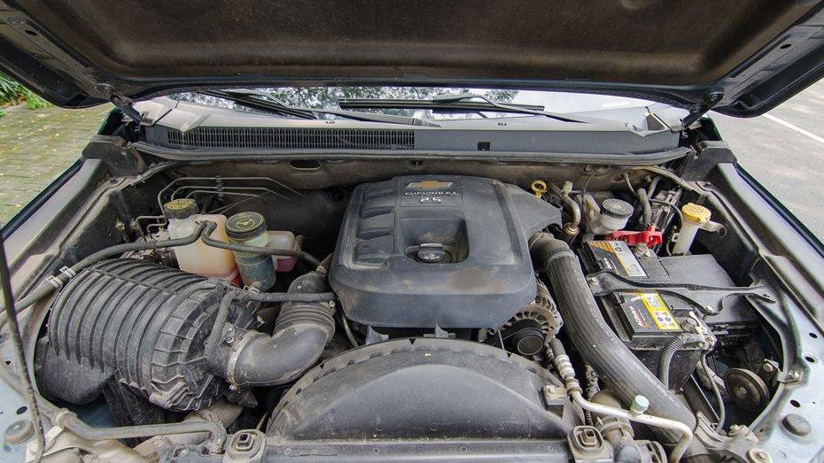 Ford Ranger có sức mạnh vượt trội hơn Chevrolet Colorado khá nhiều.