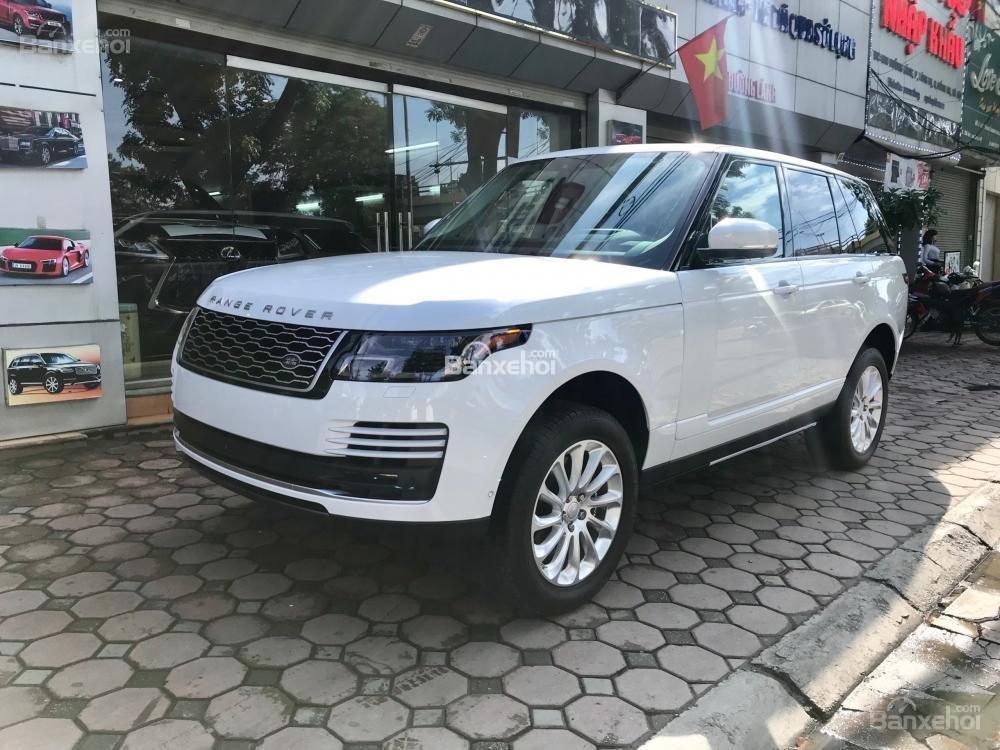 Bán ô tô LandRover Range Rover HSE đời 2019, màu trắng, nhập khẩu nguyên chiếc từ Mỹ. LH Ms Hương 0945.39.2468 (2)