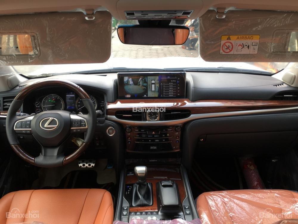 Bán xe Lexus LX 570S SuperSport năm sản xuất 2018, màu đen, nhập khẩu nguyên chiếc-14