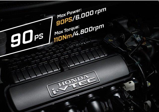 Honda Brio sở hữu động cơ 1.2L 4 xi-lanh SOHC 16 van i-VTEC a1